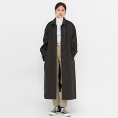 gender wool long buckle coat_(1389686)