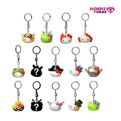 [KINKI ROBOT]HELLO KITTY TIME TO SHINE KEYCHAINS SERIES (1911003