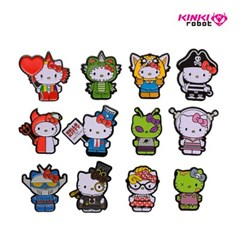 [KINKI ROBOT]HELLO KITTY TIME TO SHINE ENAMEL PINS (1911004)
