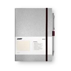 LAMY 라미하드커버 노트북A6 & 205/206 Logo유성펜Set