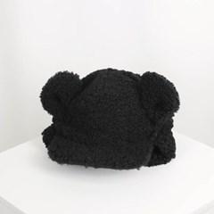 곰돌이 군밤모자_블랙(AG5C9C02TABB)