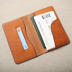 심플 가죽 여권 노트 커버 (passport & note _cover)