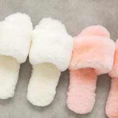 Pink rainbow (핑크 레인보우) 양모슬리퍼