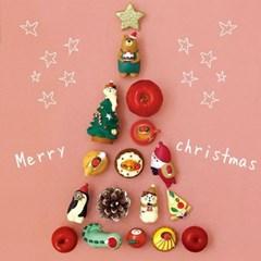 [데꼴] 미니 피규어 크리스마스 시리즈 18종