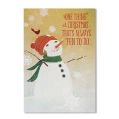 홀마크 크리스마스 카드-DSH3474