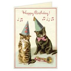 카발리니 생일케이크 고양이