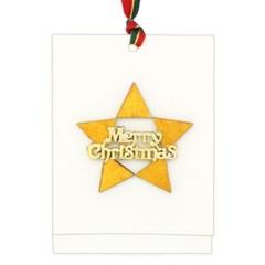 크리스마스 소원카드(5인세트)-별