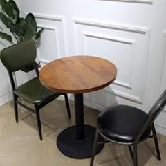 멀바우/빈티지/카페/인테리어/디자인 600 원형 테이블_(1550578)