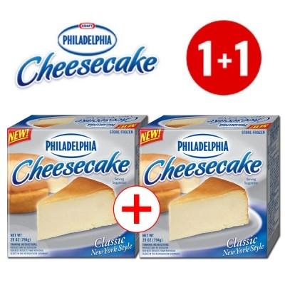 필라델피아 치즈케이크 1+1 행사(플레인+플레인)