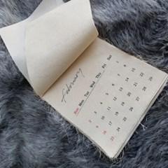 2020년 패브릭 달력 인스타 감성 포스터 달력