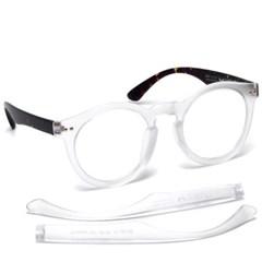 브이선 그릴아미드 TR 명품 뿔테 투명 안경테 MILKY-07-MGD-TO(50)