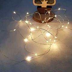 크리스마스트리 LED전구장식 심플와이어30구