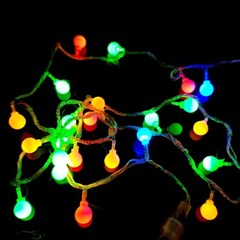 크리스마스트리 LED전구장식 LED앵두50구