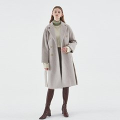 MUFFIN WOOL DOUBLE COAT_OATMEAL