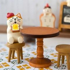 데꼴 베이커리 테이블 피규어