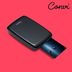 콘비 휴대용 포토프린터 MA-200 블랙 화이트_(13089302)