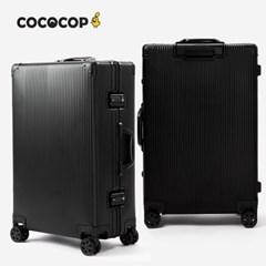 코코캅 델라 24인치 수화물 블랙 알루미늄 100% 여행용 캐리어