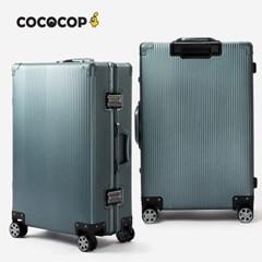 코코캅 델라 24인치 수화물 블루 알루미늄 100% 여행용 캐리어