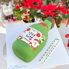 크리스마스 산타처럼 케이크