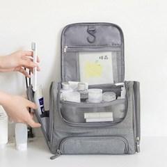 여행용 세면 가방(코랄) / 화장품 파우치 세면백 방수 수영 가방