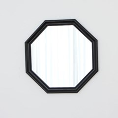 정팔각 528블랙 벽거울