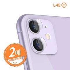랩씨 아이폰11 카메라 렌즈 강화유리 보호필름_(3311521)