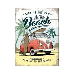 노스텔직아트[14376] VW Bulli - Beach