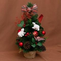 131 크리스마스 파인 레드 미니 트리 풀세트_(2183370)