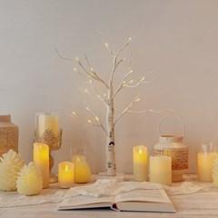 자작나무 LED 크리스마스 트리 m size