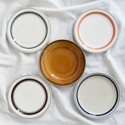 카네수즈 플레이트 카페 디저트 원형접시 그릇