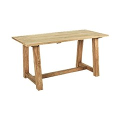 빈센트 직사각 테이블 다나무 티크원목 빈티지 호텔 테이블