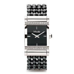 미사키 QCRWPARISIENNEBL 진주 시계 PARISIENNE BLACK_(1242785)