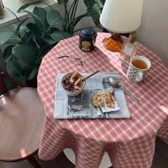 온더체리쥬빌레 식탁보 테이블보 110x110cm 테이블러너