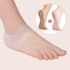 발 뒷꿈치 충격흡수 보호 패드 1+1