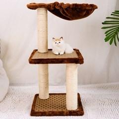 캣타워 고양이집 하우스 캣트리 DIY 3-4단_(2442678)