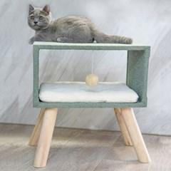 캣타워 고양이집 하우스 고양이용품_(2442674)