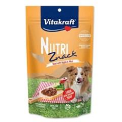 비타크래프트 뉴트리즈낵 소고기 사과&민트 80g(DOG) /강아지간식