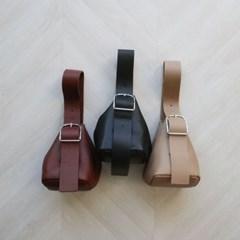 버클 스트랩 미니 버킷백 (3color)