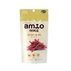 맛있는 강아지간식 아미오 건강 담은 사슴 육포 50g_(1205718)