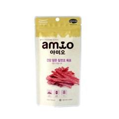 맛있는 강아지간식 아미오 건강 담은 칠면조 육포 50g_(1205717)