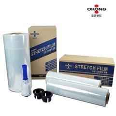 오공 스트레치필름 4개 한박스 공업용랩 산업용 포장용 포장랩 파렛