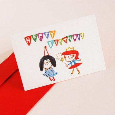 message card-happy birthday