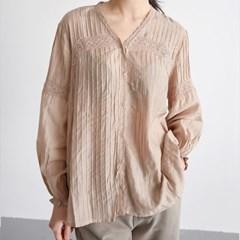 frill ruffle blouse (beige)_(1395262)