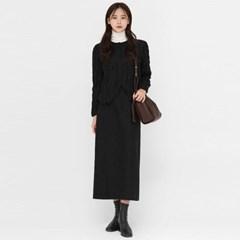 ruffled soft texture blouse_(1395763)