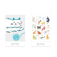[KITTA seal] 포켓형 데코 스티커_KITD014 CAT