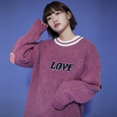 KN071_Cozy LOVE  Knit Sweater_Pink
