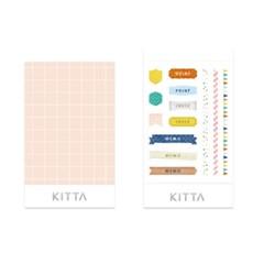 [KITTA seal] 포켓형 데코 스티커_KITD017 텍스트