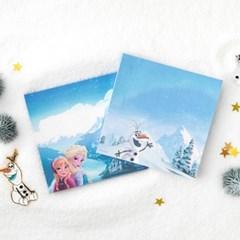 [디즈니] 겨울왕국 메모패드 (2종)