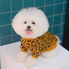 Leopard Knitwear (Brown)