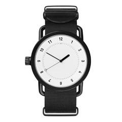 TID 티아이디 No.1 White / Black Nylon Wristband 공용_(1244632)